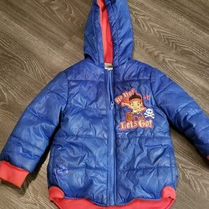 Other - Action Figure Theme Winter PufferJacket